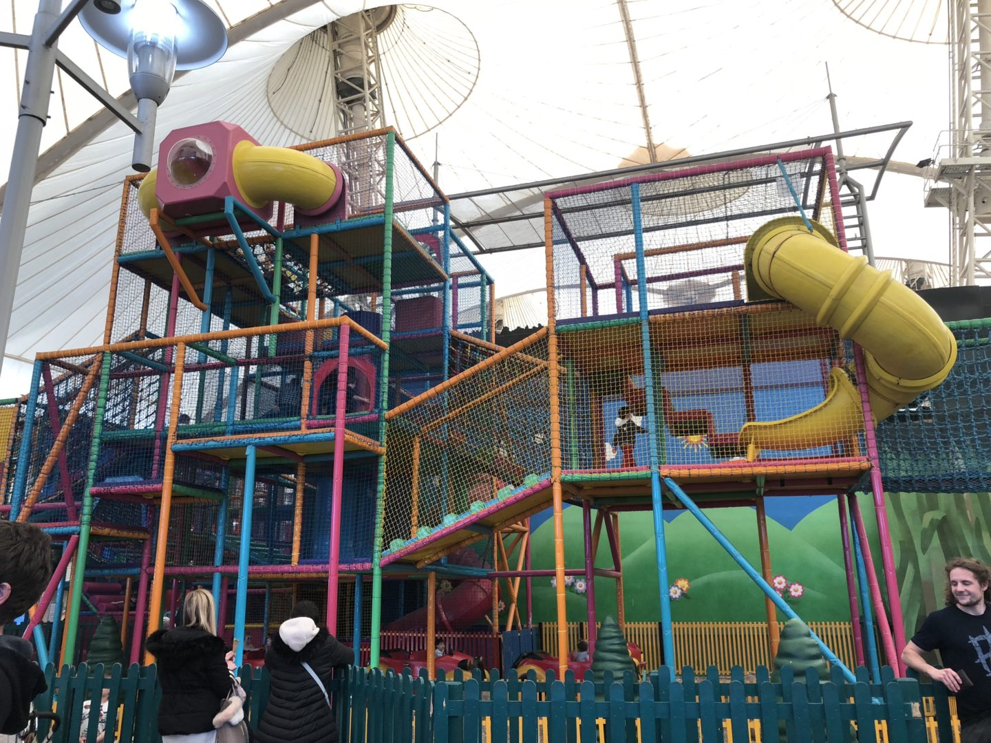 soft play butlins