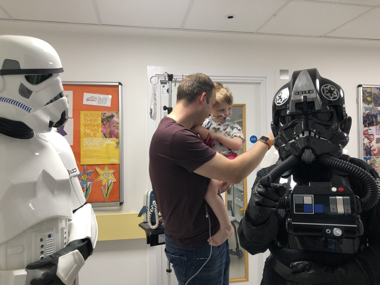 Storm troopers visiting GOSH